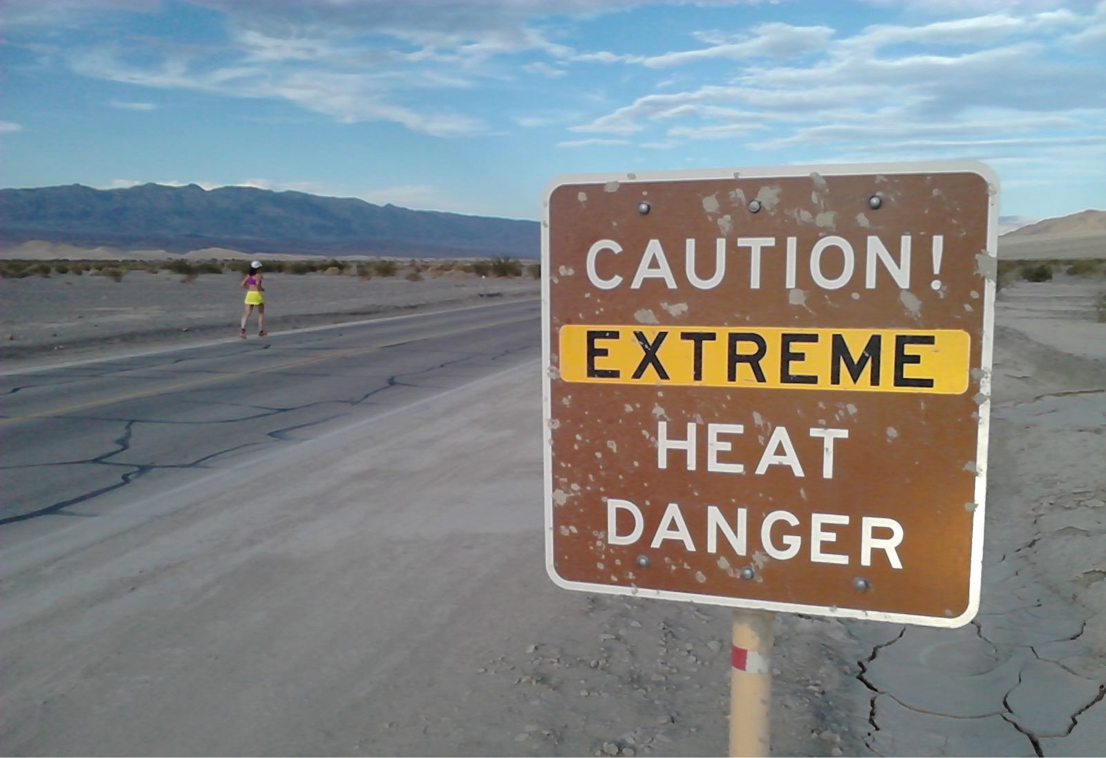 The Badwater Ultramarathon, 'the world's toughest footrace